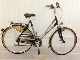 Gazelle Top of the Rage 18 speed alloy fully serviced Dutch city bike