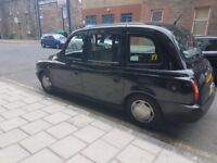Black cab plate and taxi