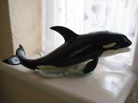 Vintage Goebel Whale Ornament