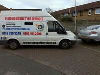 24hour mobile tyre emergency fitting service