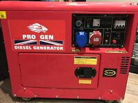 Diesel Generator, Super silent, Electric start!!!!!