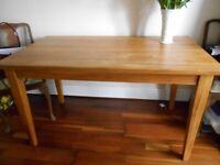 Light Oak Dining Table