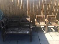 Garden chairs and little table furniture -ikea -free