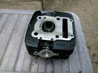Suzuki gs125, Chinese clone 125cc cylinder head and cover