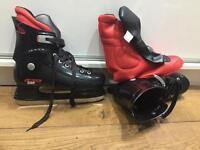 Ice skates, men, size 43, UK 9