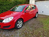 5 door Vaxhall Astra Breeze with spacious boot