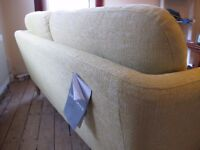 John Lewis Arlo Medium 2 Seater Sofa, Light Leg, Riley New Fennel