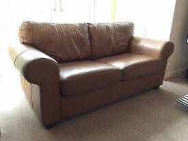 2 x IKEA Leather Sofas for Sale