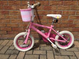 Girls Princess Bike 12 inch