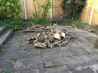 Logs ideal for burner-outdoor heater