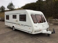 Compass Rallye fixed bed 4 berth caravan priced to sell