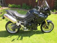 Triumph Tiger 1050 in very good condition , only 12300 miles from new with private plate