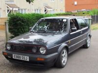 QUICK SALE,VOLKSWAGEN VW 1988 GOLF GTI CLASSIC RACING CAR LOTs OF HISTORY & NEW SERVICE 12 MONTH MOT