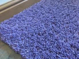 LILAC/PURPLE SHAGGY RUG