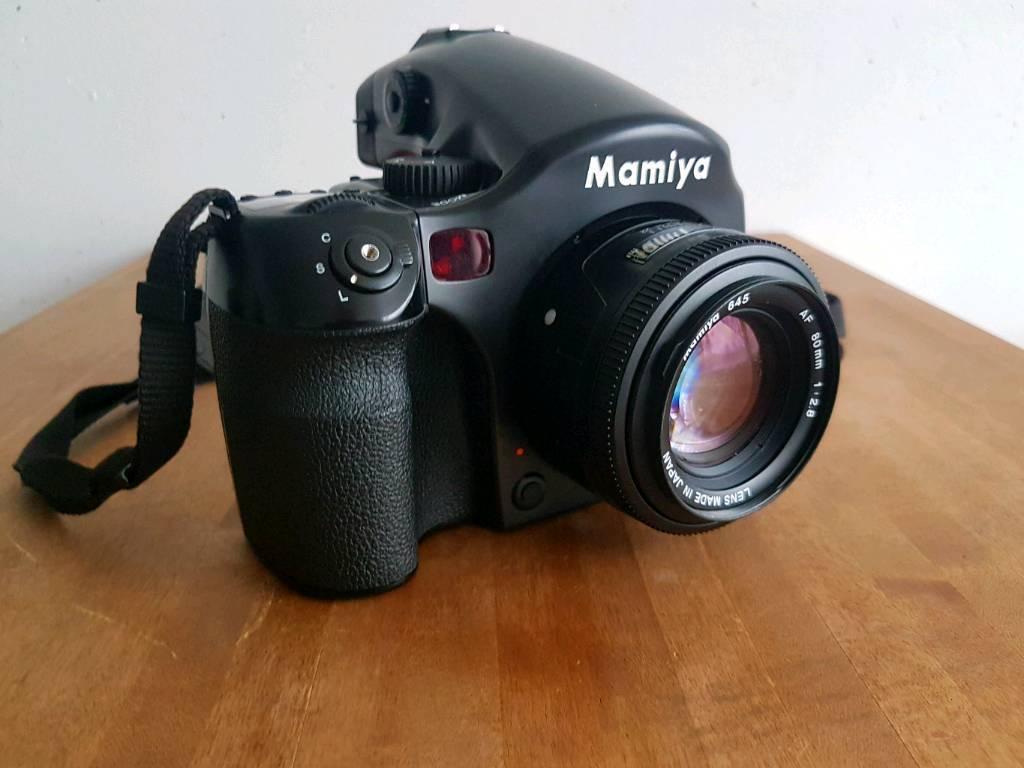 Mamiya 645AF + 80mm 2.8 AF +Filmback