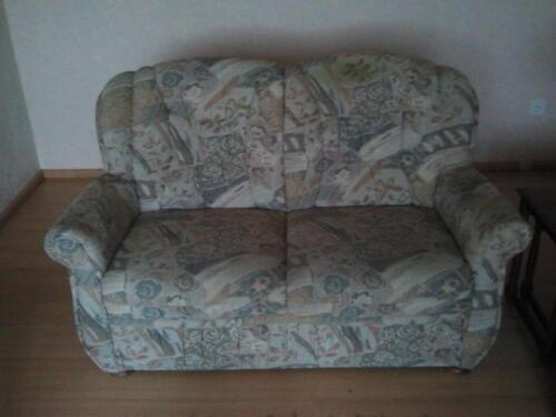 sch ne gut erhaltene polstergarnitur 3 sitzer 2 sitzer sessel in baden w rttemberg. Black Bedroom Furniture Sets. Home Design Ideas