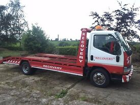 1998 Mitsubishi Canter Recovery Truck - Wireless Superwinch - 6 Ton- 3.9 Turbo Diesel - Light Beacon