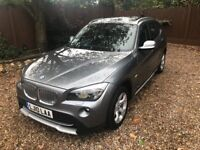 Bmw X1 2.0 23D 5Dr xDrive Sport Edition Left Hand Drive(ONLY 14K Miles!)Auto/PanRoof/SatNav[LHD]Rare