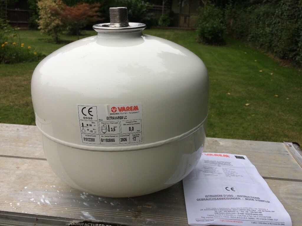 Pressure Vessel for unvented hot water cylinder | in Godalming ...