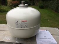 Pressure Vessel for unvented hot water cylinder