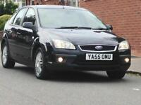 2006 TOP OF THE RANGE FORD FOCUS GHIA 1.6 LOW MILEAGE LONG MOT 3 MONTHS WARRANTY