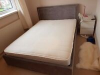 King Size Ottoman Bed with Matress - Collection Only