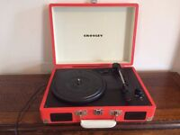 SOLD - Crosley Cruiser Briefcase Style Portable Vinyl Record Player
