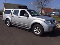 10 Plate Nissan Navara Double Cab Pick Up - One Owner from New