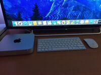2015 Apple Mac mini with Apple magic keyboard and mouse (wireless)