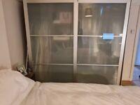 IKEA PAX Wardrobe Sliding Doors Large Drawers and Hanging Space