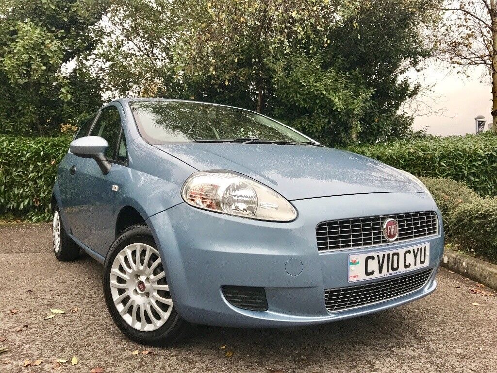 2010 (10) Fiat Grande Punto 1.4 8v Active 21,000 MILES 1 OWNER IMMACULATE FULL FIAT SERVICE HISTORY
