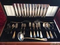 Gold plated Italian cutlery