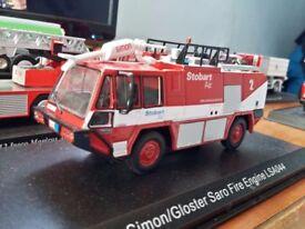 RARE Stobart Saro fire engine