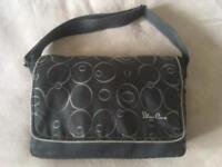 Silver Cross 'Charcoal Bubbles' changing bag