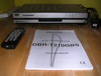 Pioneeer Digital Terrestrial Receiver (Digibox), with remote control and user manual