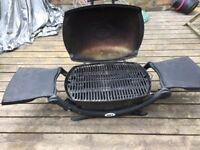 Webber Gas BBQ with optional gas bottle