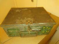 Two Vintage / Retro / Storage Boxes