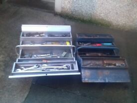 Two Boxes of Vintage Tools