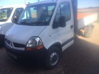 Renault Master Tipper 09 plate