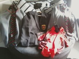 De lasalle blazor. jumpers. ties .pe uniform