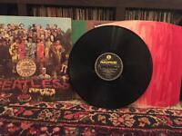 The Beatles 3 sgt peppers LPs
