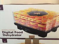 Healthy Eating Excellent condition digital food dehydrator