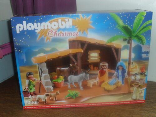 VERY RARE PLAYMOBIL CHRISTMAS SET  5588 - NATIVITY SCENE - BRAND NEW