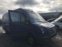 Volkswagen crafter cr35 109 tdi blue tdi spare parts available