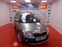 Skoda Roomster SCOUT TDI CR(ONLY 21000 MILES)FREE MOT'S AS LONG AS YOU OWN THE CAR!!! (grey) 2010