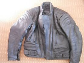 Sun Moto size 44 Leather MotorcycleJacket