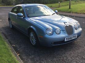 2006 (56) Jaguar S-Type 2.7D SE 63,600 miles (cat d repaired)