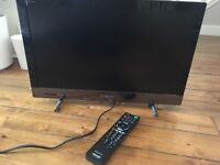 "Sony Bravia 21"" smart tv with remote control"