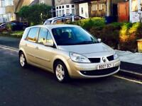 2007 Renault Scenic 1.6 Automatic, New Mot, Full Service History, Super Low Mileage, Huge Boot Space
