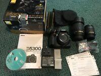 NiKon D5300 Kit+ Nikon 18-135mm